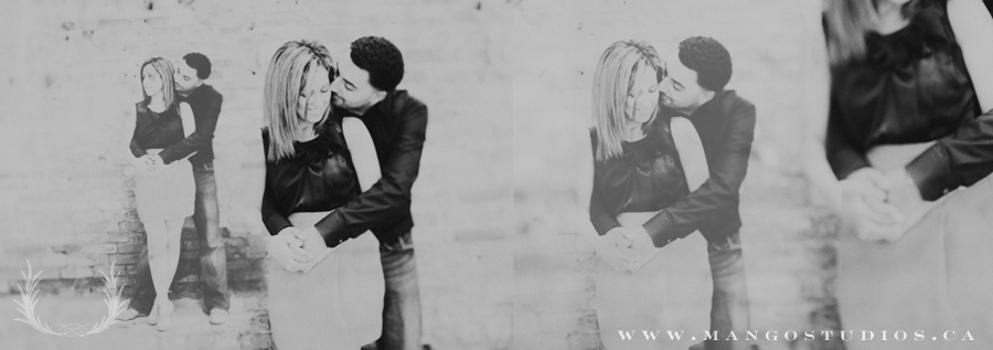 An engagement session in the Don Valley Toronto Area