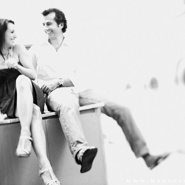 Toronto Engagement Session with Liz and Ewan