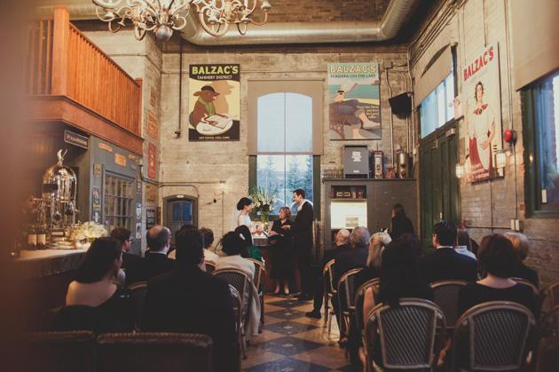 Cool Outdoor Wedding Venues Across Canada: Phenomenal Balzac's Coffee Wedding In Toronto
