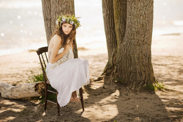 Vintage Wedding Gown Inspiration Shoot