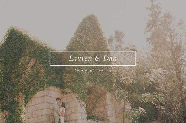 LaurenDanBlogTitlepage