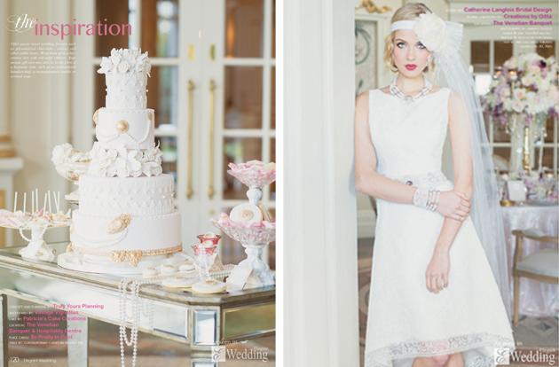 Mango Studios on the Cover of Elegant Wedding Magazine!