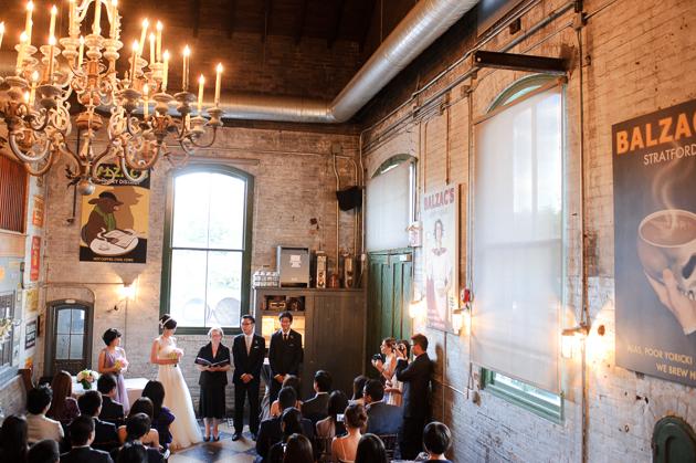 Balzac coffee distilleries wedding bands