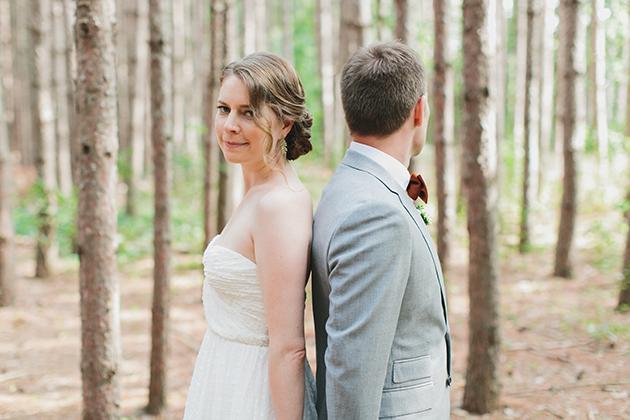 Homegrown Woodland Wedding at Kortright Centre