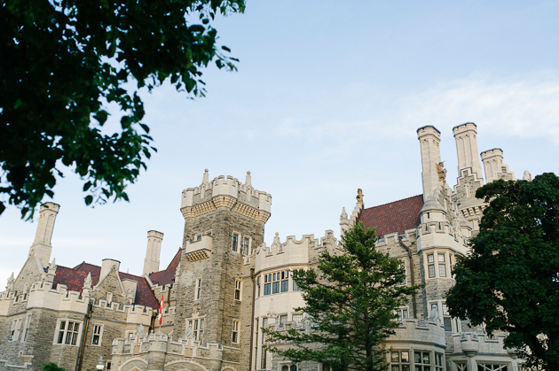 The majestic Casa Loma in Toronto is a perfect backdrop for special occasions particularly weddings.