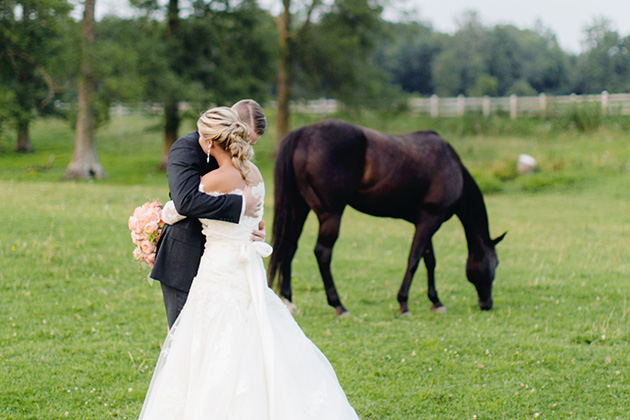 Glamorous Toronto Barn Wedding