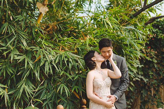 Madsen's Greenhouse Wedding featured in Weddingbells Magazine