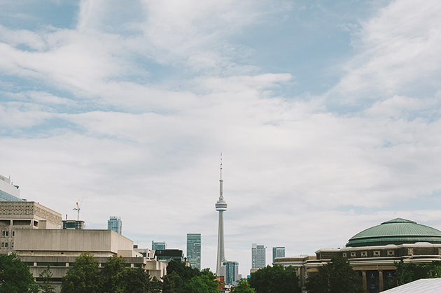 Burroughs wedding in Toronto