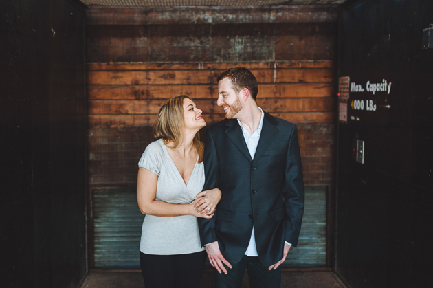 Toronto industrial engagement session