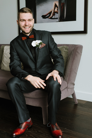 The Chase Toronto Wedding Venue. Gay wedding portrait photography and wedding outfit ideas.