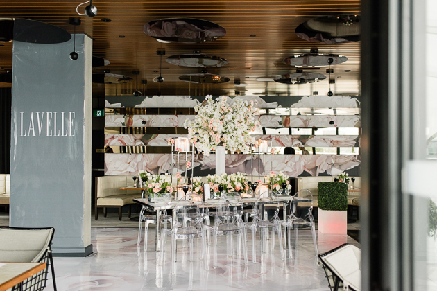Lavelle Toronto Wedding Photography. Elegant rooftop complex with a modern French eatery, bars & a massive outdoor pool.