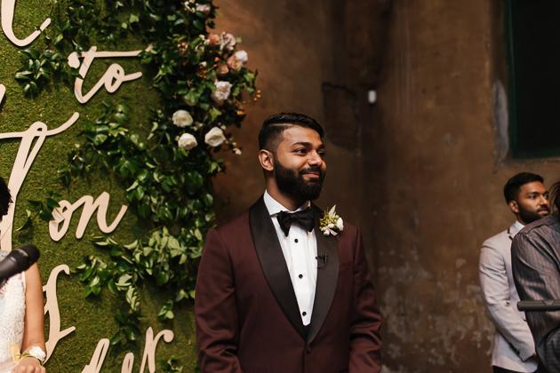 Fermenting Cellar Toronto Wedding Photographer. Wedding ceremony photography.