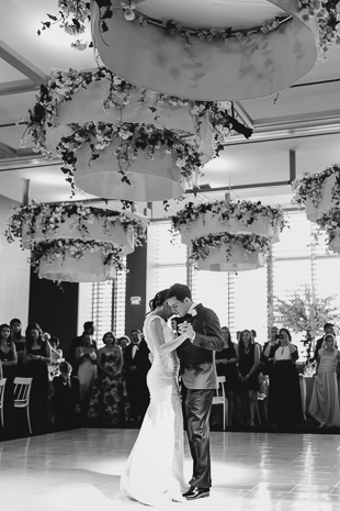 AGO Toronto Wedding Photography. The bride and groom share their first dance as husband and wife.