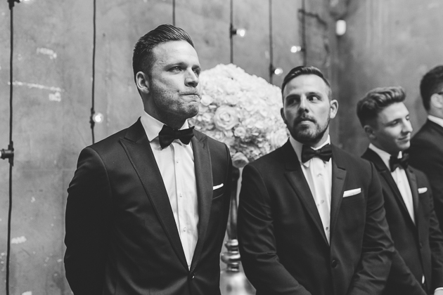 This groom was full of emotions