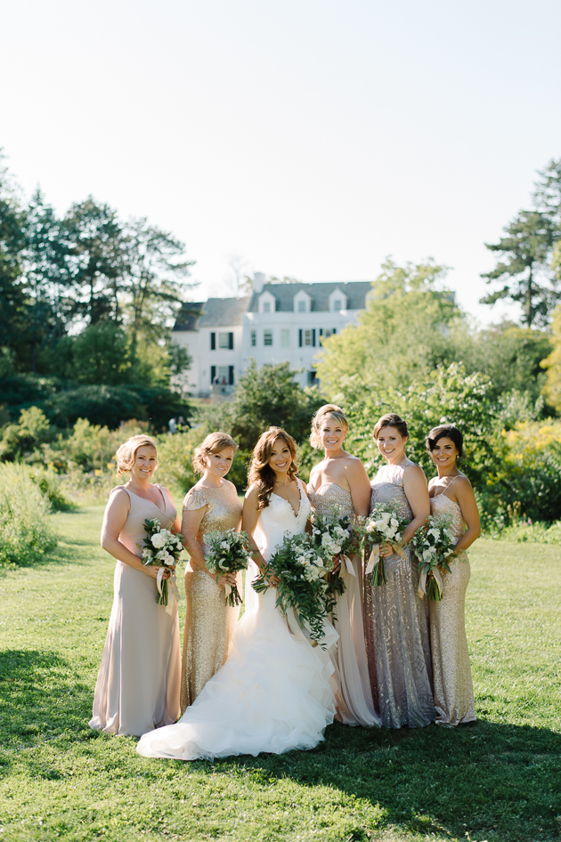 Gorgeous bridesmaids at Holcim Estate wedding