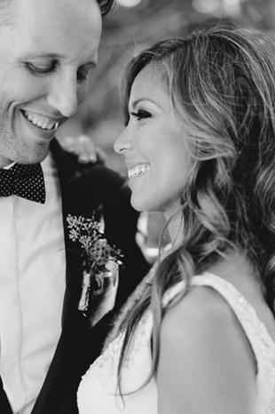 A bride's dazzling smile at Holcim Estate wedding