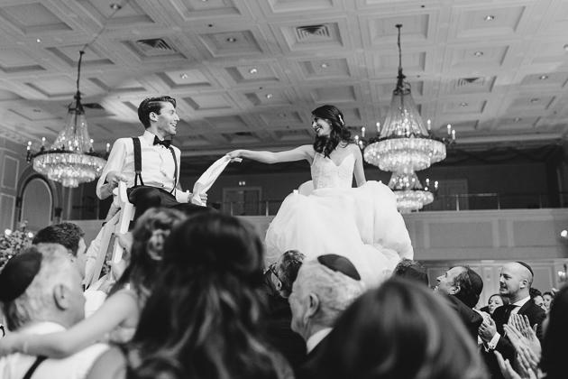 late night dancing at a fairmont royal york wedding