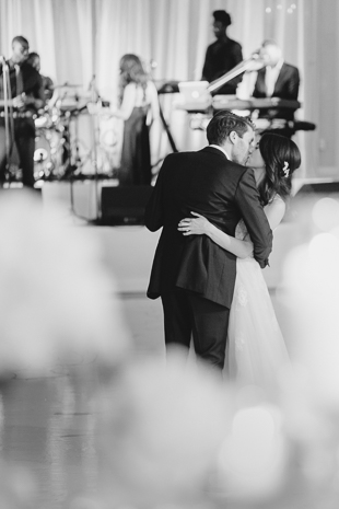 romantic first dance at a fairmont royal york wedding