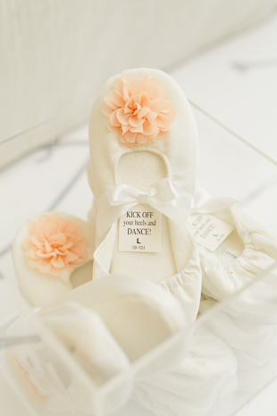 ballerina shoes for wedding guests at fairmont royal york