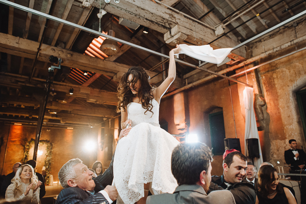 Fermenting Cellar Toronto Wedding Photography of the Bride's Hora