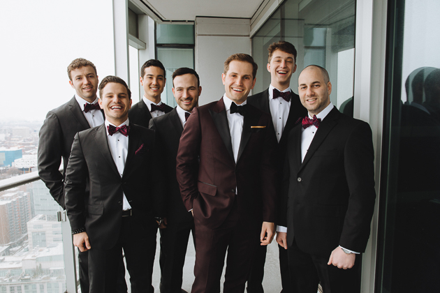 Fermenting Cellar Toronto Wedding Photographer. The groom and his groomsmen getting ready photo session.