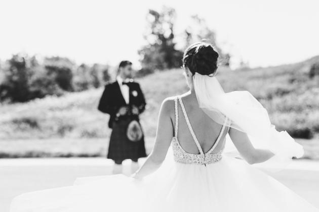 Eagles Nest Golf Club Wedding Venue. Toronto Photojournalistic Wedding Photographer. Creative portrait photography of couple.