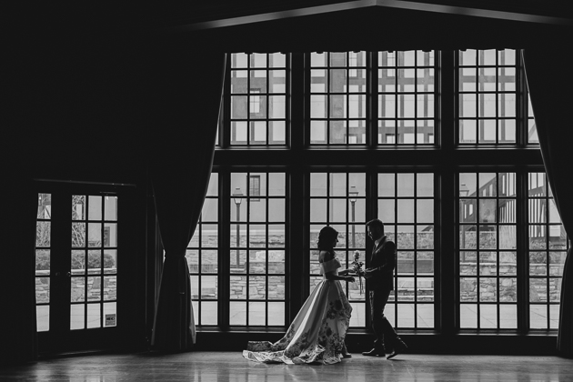 Love this moody engagement photo shoot at Old Mill Hotel in Toronto