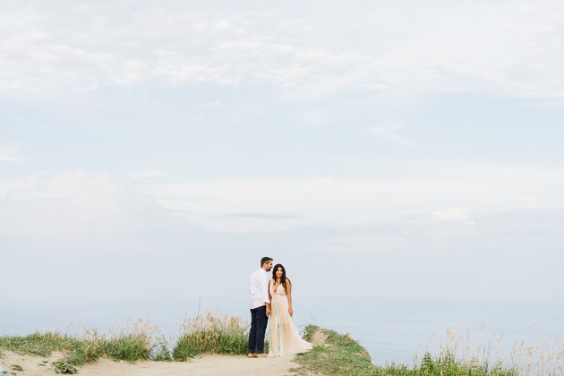 My beautiful couple atop of the Scarborough Bluffs