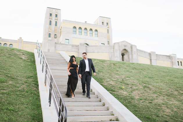 R.C. Harris Water Treatment Plant is one of my favourite spots in the GTA to take engagement pictures