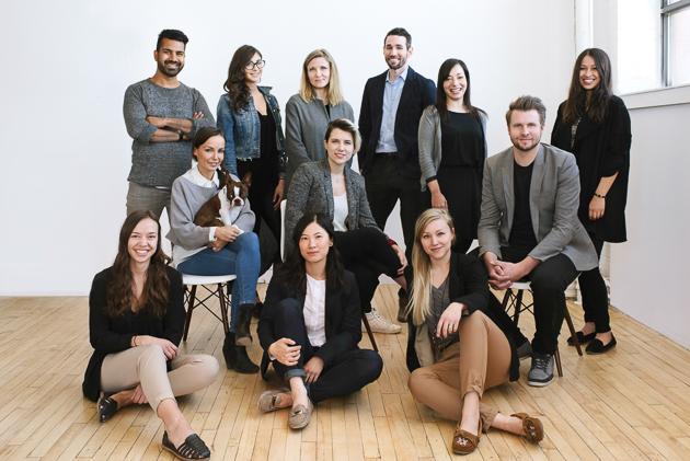 A hip and talented team of Toronto wedding photographers at Mango Studios
