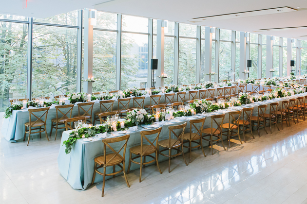 Gorgeous wedding reception at Royal Conservatory of Music