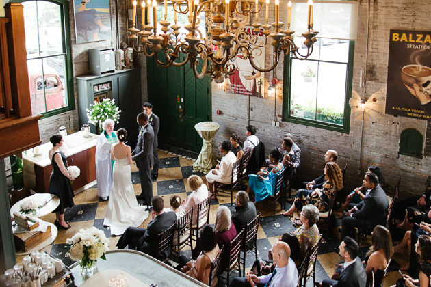 Balzac's is now of my favourite small wedding venues in Toronto