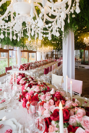 Pink ombre wedding inspiration from Mango Studios