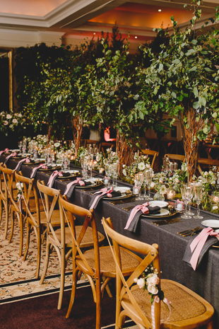 Forest inspired bohemian wedding inspiration at Four Seasons