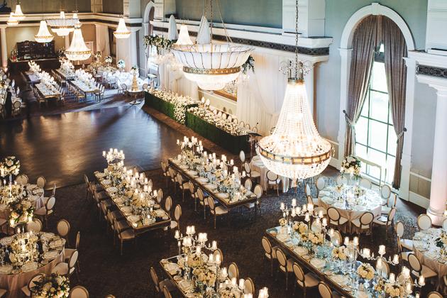 Secret garden inspired Liberty Grand wedding