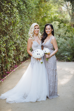 Dorothy Wang of Rich Kids of Beverly Hills joined Jennifer and David at Palm Springs wedding to celebrate their big day