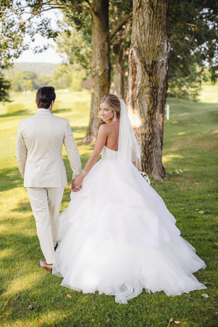 Current Boston Bruins star and NHL member, Matthew Beleskey married Victoria at a sunne Barrie Country Club wedding