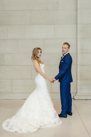 NHL star, Kristopher Versteeg and Brittany Wedding