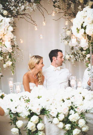 NHL star, Sam Gagner and Rachel wedding