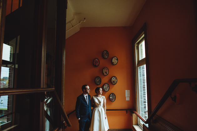 Grandstone Hotel wedding photos are full of mystery and romance