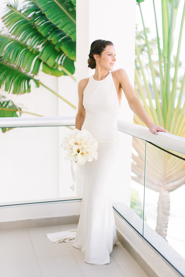 Our beautiful bride at Royalton Punta Cana
