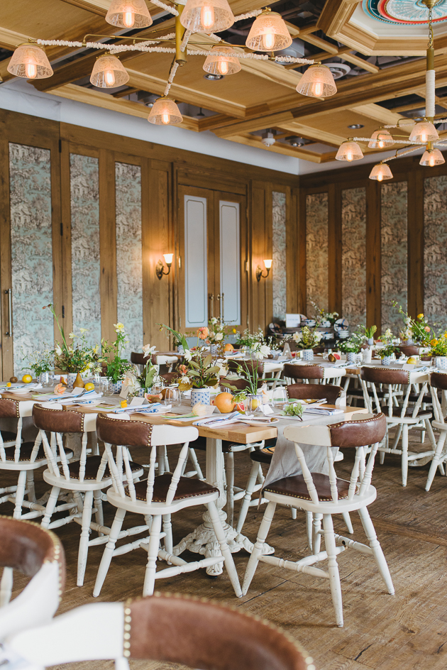 cluny bistro looked beautiful at this garden inspired bridal shower theme
