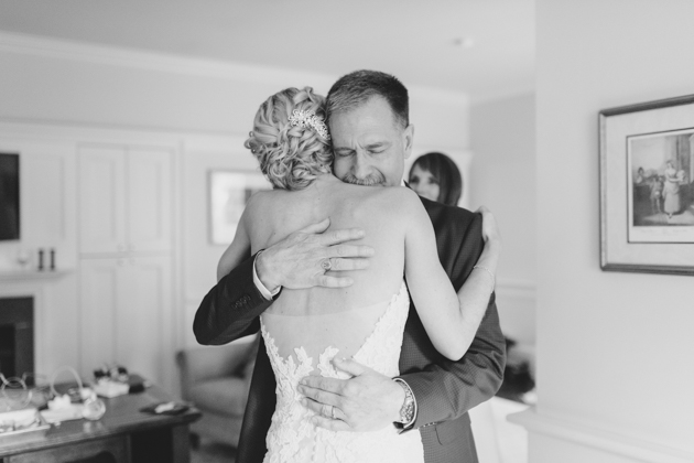 A father's hug: Father of the bride tribute