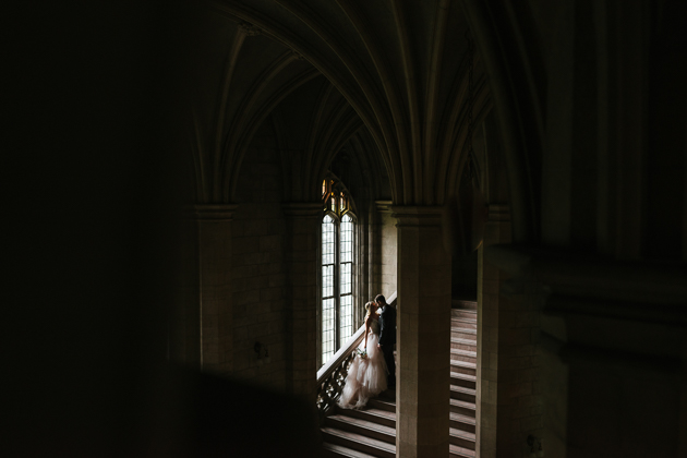 Knox College is one of the best University of Toronto wedding photography spots