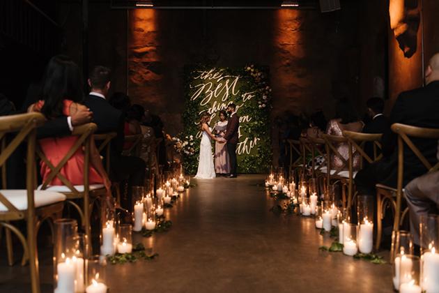 Romantic Distillery District Wedding in Toronto