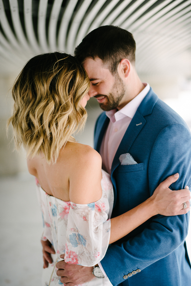 City Hall engagement photos in Toronto