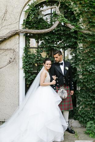 Wedding portraits at the Glendon College
