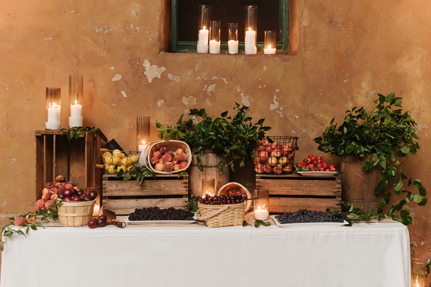 Not your ordinary sweet table! Fermenting Cellar wedding in Distillery District