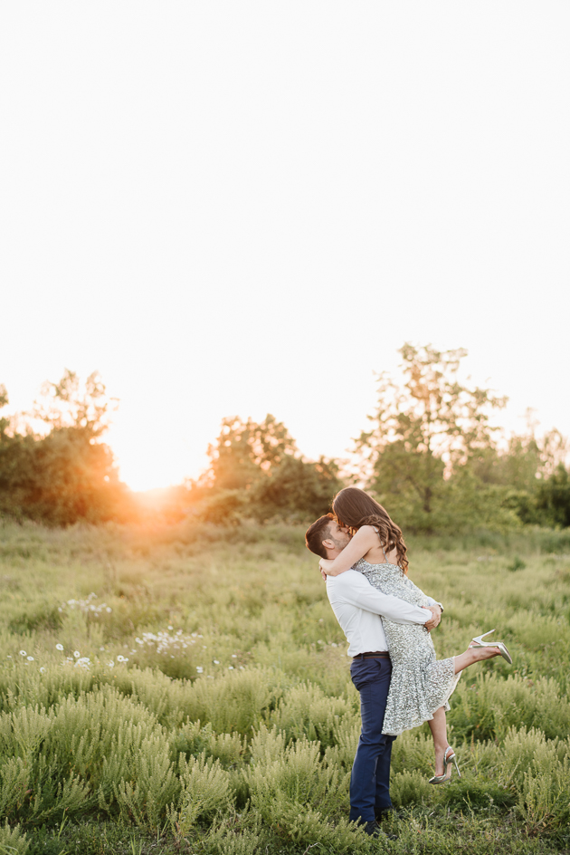 Fun engagement photo ideas in Toronto