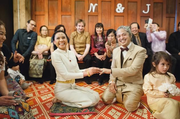 Modern Buddhist wedding ceremony at PAI in Toronto